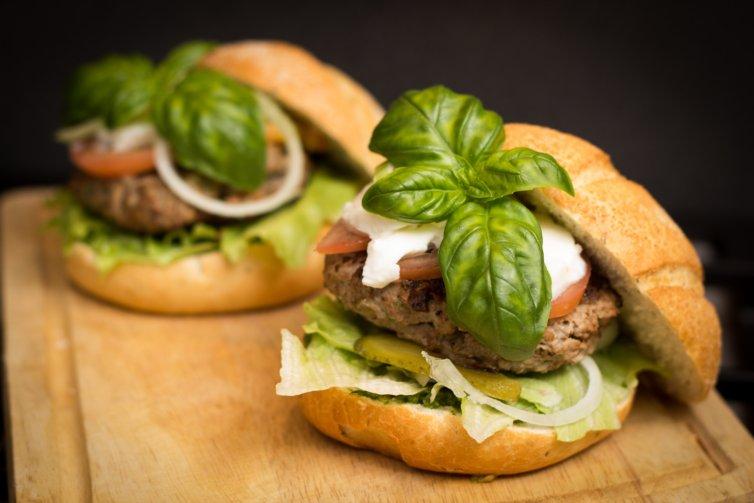 Hamburger au pain complet