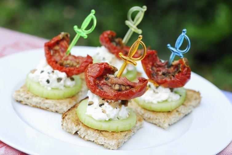 Toasts apéro Club Med