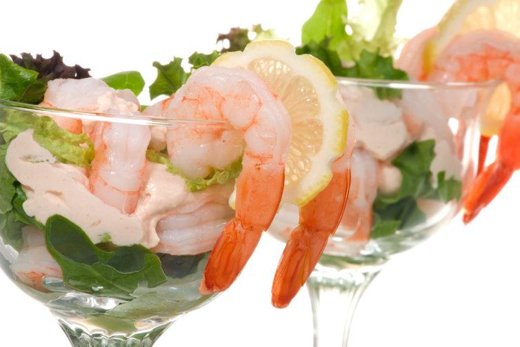 Cocktail de crevettes sauce rose