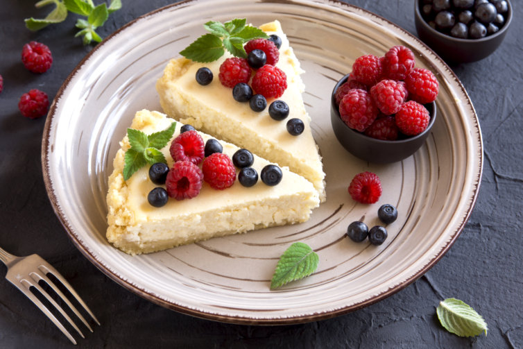 Cheese cake aux fruits rouges