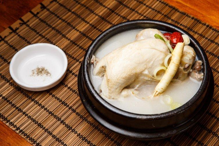 Poule au pot à la pékinoise